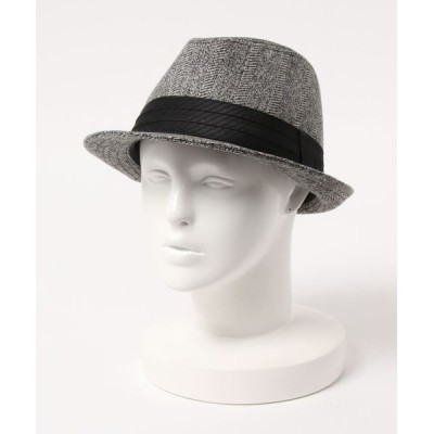 kana / ウール ジャガードの中折れハット MEN 帽子 > ハット