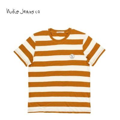 Nudie Jeans ヌーディージーンズ 半袖 Tシャツ Roy Border Tee 511614027
