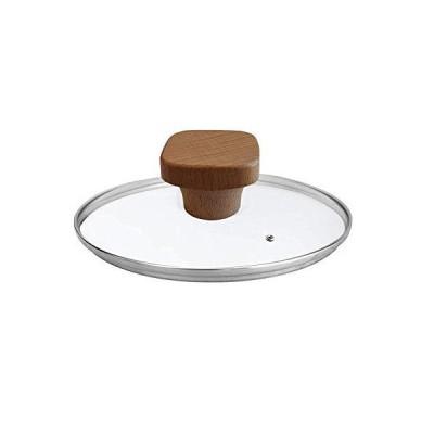 万能ソリッド木製素材鍋蓋ノブ (割れや手を焼くことはありません) 鍋やフライパン、