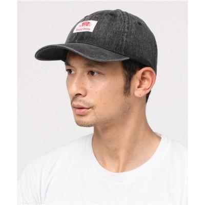 帽子 キャップ ROUND HOUSE WASHED DENIM BB CAP