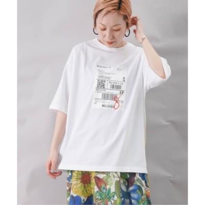tシャツ Tシャツ BLANC basque ブランバスク タイベックリメイクテープT