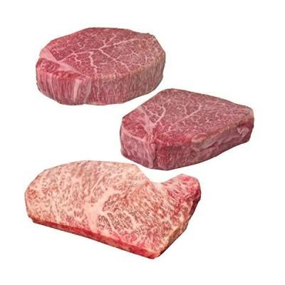 松阪牛 ステーキ 特選 3部位食べ比べセット A5等級 ステーキ肉 合計480g シャトーブリアン 150g + ヒレ 150g + サーロ