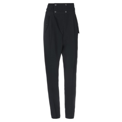 ヌメロ ヴェントゥーノ N°21 パンツ ブラック 40 アセテート 50% / レーヨン 50% / シルク パンツ