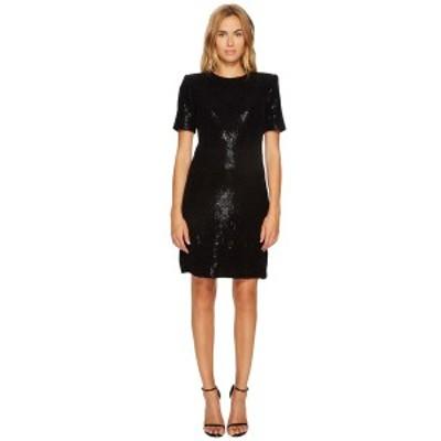 ソニアリキエル レディース ワンピース トップス Paillettes Dress Black