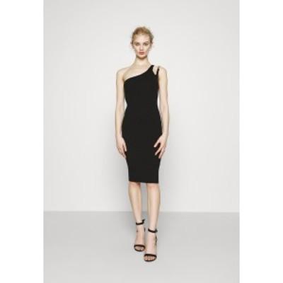 フォース アンド レックス レディース ワンピース トップス ALICE DRESS - Shift dress - black black