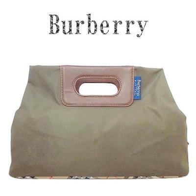 美品 BURBERRY バーバリー ブルーレーベル ハンドバッグ
