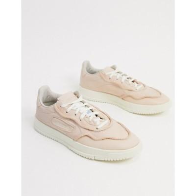 アディダス メンズ スニーカー シューズ adidas Originals sc premiere sneakers in raw white