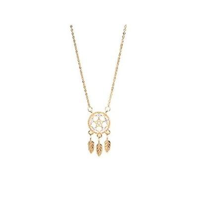 【イチオシ厳選】zxb-shop Necklaces Pendant Dream Catcher Necklace Female Fresh Dream Catche