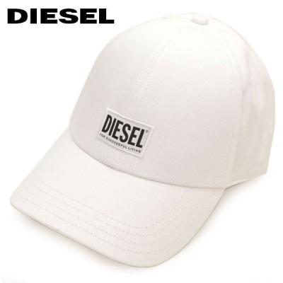 キャップ ディーゼル メンズ DIESEL ベースボールキャップ 帽子 ロゴ フリーサイズ edl20s003 00SYQ9 0BAUI-100 ホワイト