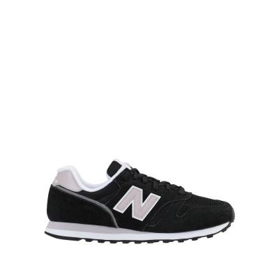 ニュー・バランス NEW BALANCE スニーカー&テニスシューズ(ローカット) ブラック 9.5 革 / 紡績繊維 スニーカー&テニスシューズ(