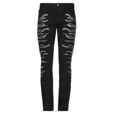 JUST CAVALLI ジーンズ ファッション  メンズファッション  ボトムス、パンツ  ジーンズ、デニム ブラック