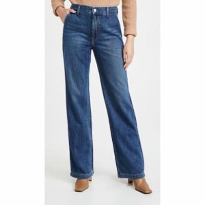 TRAVE レディース ジーンズ・デニム ワイドパンツ ボトムス・パンツ Joan Wide Leg Trousers Walk This Way