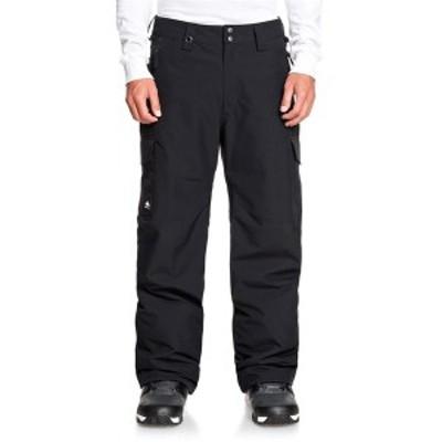クイックシルバー メンズ カジュアルパンツ ボトムス Quiksilver Porter Pants True Black