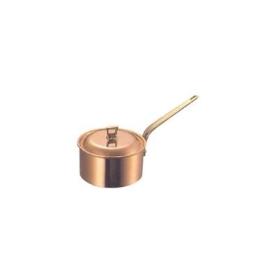 片手鍋 深型 ガゼル 銅製 18cm