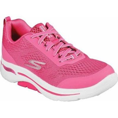 スケッチャーズ レディース スニーカー シューズ Women's Skechers GOwalk Arch Fit Motion Breeze Sneaker Pink