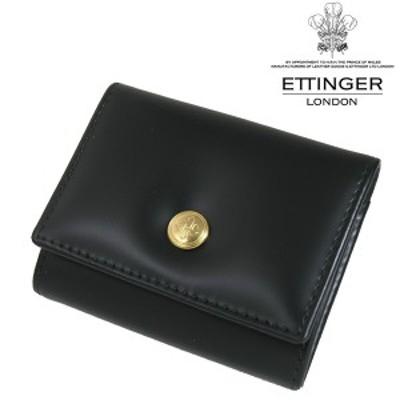 送料無料 エッティンガー/ETTINGER 小銭入れ メンズ Bridle Hide コインケース BH145JR-BLACK