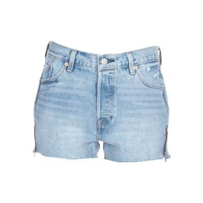 LEVI' S デニムショートパンツ ブルー 27 コットン 100% デニムショートパンツ