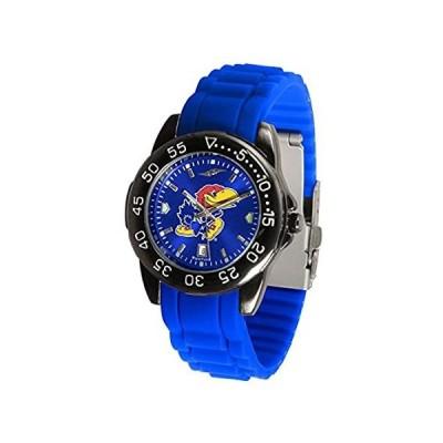 カンザスジェイホークスFantomスポーツシリコンメンズ腕時計