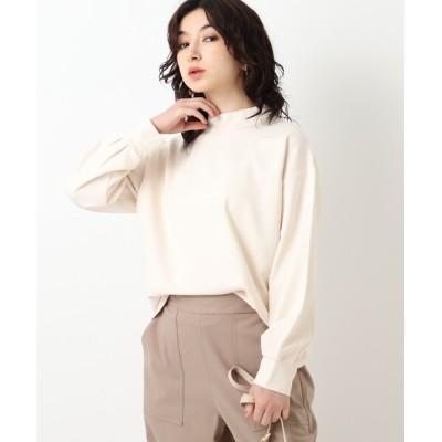 tシャツ Tシャツ クリアポンチ スタンドネックトップス【WEB限定サイズ】