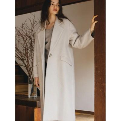 TRUNC 88 / Shaggy A-Line Long Coat WOMEN ジャケット/アウター > チェスターコート