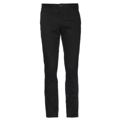 OLIVIER STRELLI パンツ ブラック 50 コットン 98% / ポリウレタン 2% パンツ
