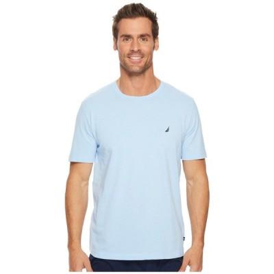 ノーティカ Nautica メンズ Tシャツ トップス Knit Sleep T-Shirt Noon Blue