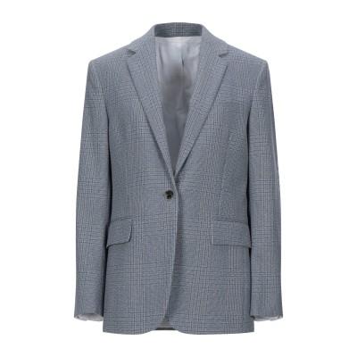 CALVIN KLEIN 205W39NYC テーラードジャケット グレー 38 ナイロン 53% / バージンウール 47% テーラードジャケット