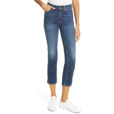ラグアンドボーン デニム ボトムス レディース Nina High Waist Ankle Cigarette Jeans Manchester