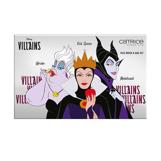 卡翠絲反派女巫臉部刷具組迪士尼限定版