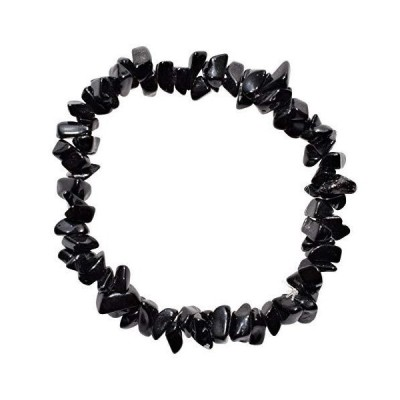 Zenergy Gems Selenite Charged Natural Himalayan Black Onyx Combo Crystal Br