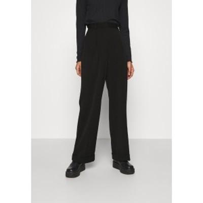 エヌ エー ケイ ディ レディース カジュアルパンツ ボトムス MATHILDE GHLER SUIT PANTS - Trousers - black black