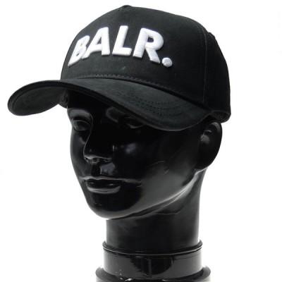 BALR. ボーラー メンズベースボールキャップ Classic Cotton Cap / 10015 ブラック