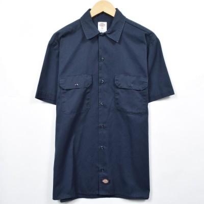 ディッキーズ Dickies 半袖 ワークシャツ メンズM /eaa038856
