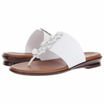 イタリアンシューメーカー Italian Shoemakers レディース ビーチサンダル シューズ・靴 Genieve White