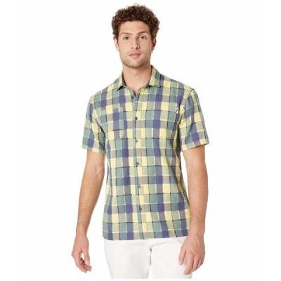 パブリッシュ シャツ トップス メンズ Alva Button-Up Shirt Blue