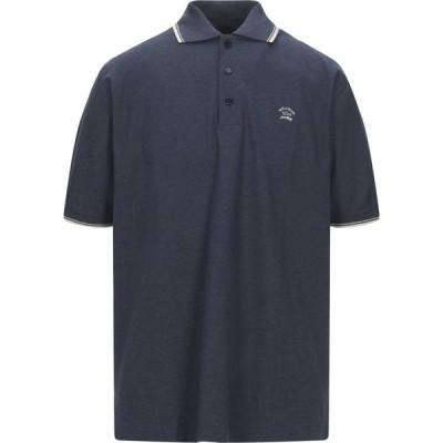 ポール シャーク PAUL & SHARK メンズ ポロシャツ トップス Polo Shirt Dark blue