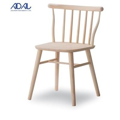チェア 椅子 ウッド 木 幅54×奥行49×座面44cm アダル ホーン adal-horn