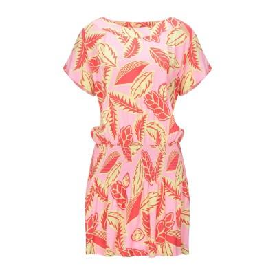 BOUTIQUE MOSCHINO ミニワンピース&ドレス ピンク 40 レーヨン 100% ミニワンピース&ドレス