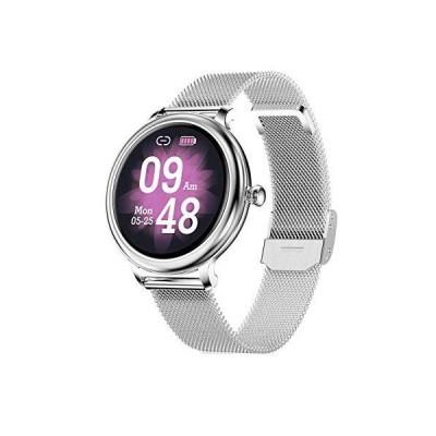 海外取寄品--Smart Watch for Women, IP68 Waterproof Smartwatch Fitness Tracker Co