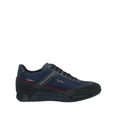HARMONT&BLAINE スニーカー&テニスシューズ(ローカット) ダークブルー 40.5 革 / 紡績繊維 スニーカー&テニスシューズ(ローカ