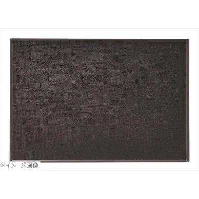 PP 長角盆 415×290 黒 ノンスリップ M44−375