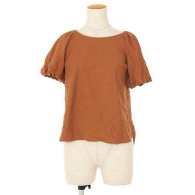 エムズグレイシー Tシャツ カットソー パフスリーブ バックリボン 半袖 40