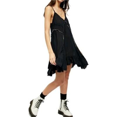 フリーピープル FREE PEOPLE レディース ワンピース チュニックドレス ワンピース・ドレス Sway with Me Trapeze Tunic Dress Black