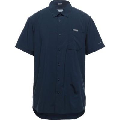 コロンビア COLUMBIA メンズ シャツ トップス Solid Color Shirt Dark blue