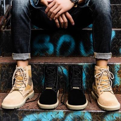 ブーツ 靴 メンズシューズ エンジニアブーツ マーティンブーツ アウトドア ワークブーツ ショートブーツ 男性用靴 学生 旅行 快適 紳士靴 カジュアル 本革