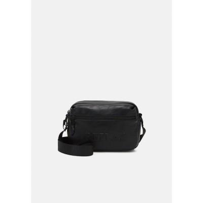 リプレイ ショルダーバッグ メンズ バッグ SOFT BAG UNISEX - Across body bag - black
