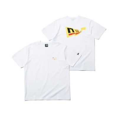 tシャツ Tシャツ ニューエラ ポケモン コラボ Tシャツ FLAG LOGO PIKACHU NEW ERA POKEMON