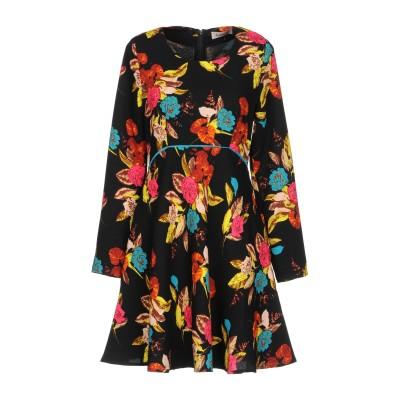 LOUCHE ミニワンピース&ドレス ブラック 10 ポリエステル 95% / ポリウレタン 5% ミニワンピース&ドレス