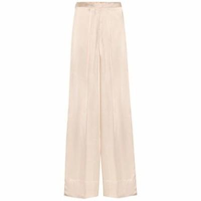 ジル サンダー Jil Sander レディース ボトムス・パンツ Satin wide-leg pants Light/Pastel Pink