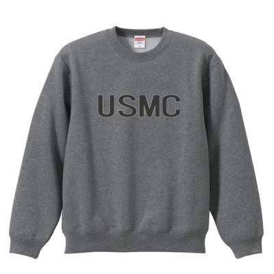 ミリタリー トレーニング スウェット トレーナー U.S.M.C 米海兵隊